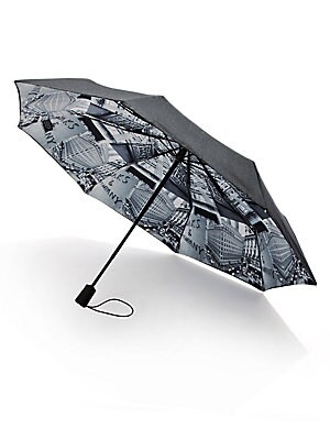 Saks Printed Lining Umbrella by Saks Fifth Avenue