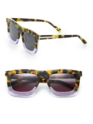 Deep Orchard 55MM Square Sunglasses