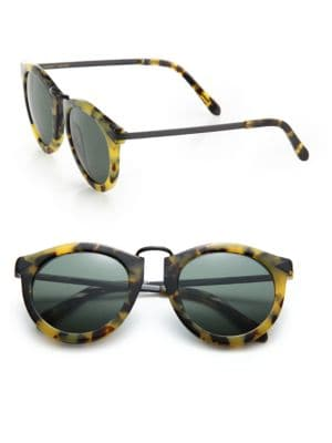 Harvest 51MM Round Sunglasses