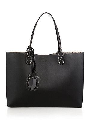 754d23230ed5 Gucci - Medium Reversible Leather Tote - saks.com
