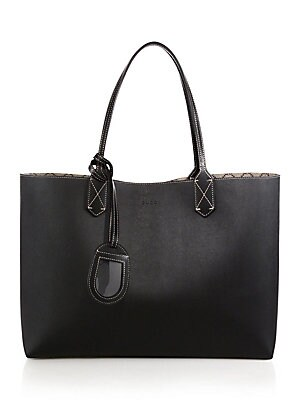 e1b0cb530fc4e6 Gucci - Medium Reversible Leather Tote - saks.com