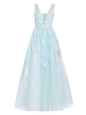 Floral Applique Gown