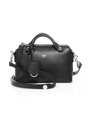 Mini Leather Satchel by Fendi