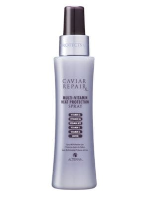 Image of A multivitamin spray with an element of heat protection. This nourishing spray provides light conditioning while boosting hair's immunity leaving damaged hair soft, silky and smooth while improving manageability. This spray is formulated with anti-oxidant