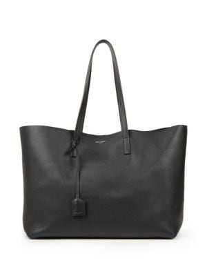 99706266 Large Leather Shopper Tote