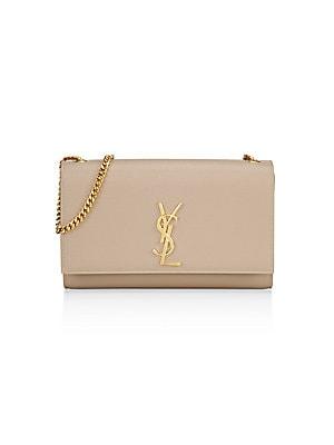 Saint Laurent - Medium Kate Monogram Leather Chain Shoulder Bag 8d2b57ef294d7