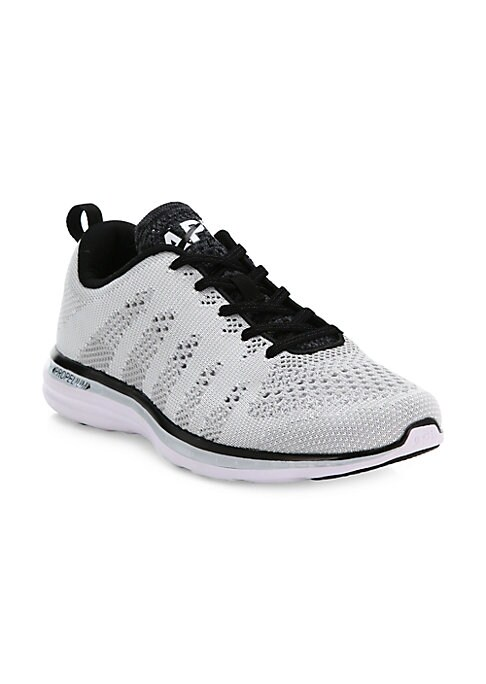 Image of A seamless, single-layer upper of innovative performance textile ensures strength, support, and breathability in this sleek sneaker that stylishly fuses fashion and sport sensibility. TechLoom mesh upper. Propelium and rubber sole. Padded insole. Imported