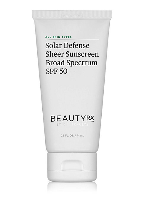 Image of This oil-free SPF 50 sunscreen goes on sheer and is perfect to wear under makeup for everyday sun protection against damaging UVA and UVB rays. By using sunscreen on a daily basis you can help prevent the signs of sun damage, and allow your skincare produ