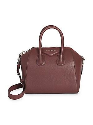 2ed2e2e1fbef Givenchy - Antigona Small Leather Satchel - saks.com