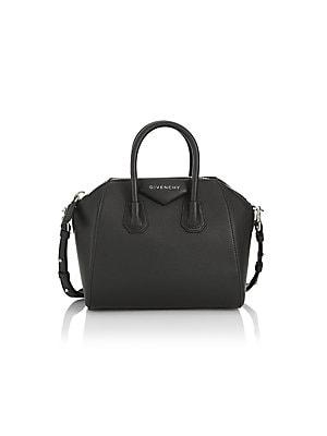 Givenchy - Antigona Mini Leather Satchel - saks.com 04cacabc5c8e1