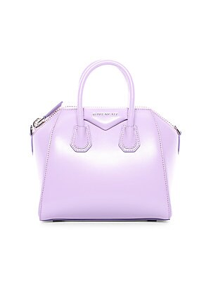 eb42efe6214c2 Givenchy - Antigona Mini Leather Satchel - saks.com
