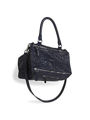 Givenchy - Pandora Medium Leather Shoulder Bag - saks.com 13013b48d51cd