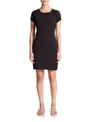Viareggio Mesh-Panel Dress by CSBLA