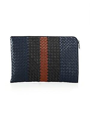 e4b729225021 Bottega Veneta - Intrecciato Leather Document Case