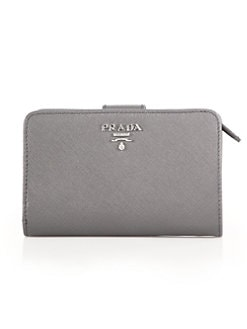 c4003e2caf53 Prada. Saffiano Leather Wallet