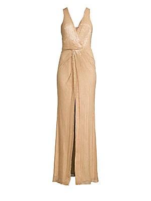 6f507a1ea97 Parker Black - Monarch Beaded Silk Gown - saks.com