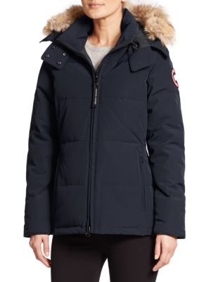 Chelsea Fur Trimmed Parka by Canada Goose