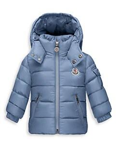 moncler baby blue coat
