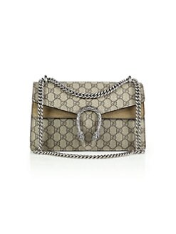 dc4e799ce842 QUICK VIEW. Gucci. Dionysus GG Supreme Small Coated Canvas Shoulder Bag