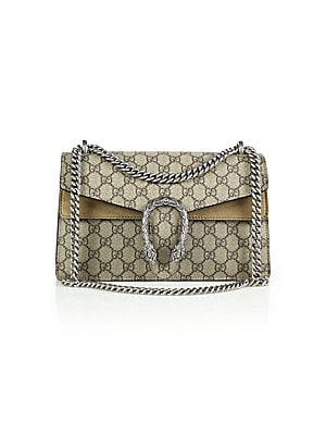 caf152f32 Gucci - Dionysus GG Supreme Small Coated Canvas Shoulder Bag - saks.com