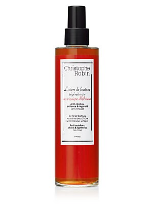 Image of Antioxidant, Stimulating, Antibacterial. Regenerating hair finish lotion with antioxidant and soothing properties. Ideal to help remove residues left on the hair and bring lightness and shine. A simple daily gesture for healthy hair for roots to tips, and