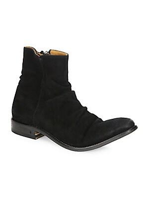 3485a7261a05 Saint Laurent - Wyatt Python Harness Boots - saks.com
