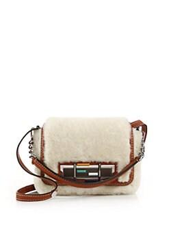 Fendi - Sheep Fur & Leather 3Baguette