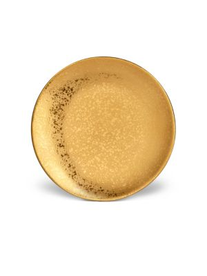 Alchimie De Venise 24K Gold-Finish Bread & Butter Plate