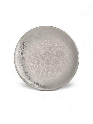 Image of Alchimie De Venise Earthenware Platinum-Finish Bread & Butter Plate