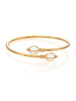 Temple St  Clair - Classic Rock Crystal & 18K Yellow Gold