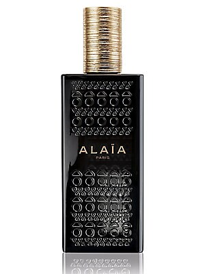 Image of Alaïa Paris, the first fragrance by Alaïa. A resolutely modern Eau de Parfum with both cool and warm notes. The top is a fresh impression with airy notes and pink pepper. The heart is an abstract floral impression (Freesia and poppy). The base impression