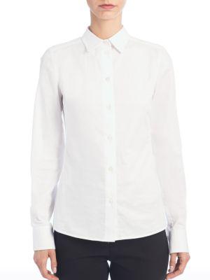 Stretch Cotton Shirt by Dolce & Gabbana