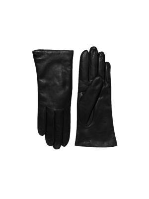 60b446b9e8f5e Saks Fifth Avenue - Cashmere-Lined Leather Gloves - saks.com
