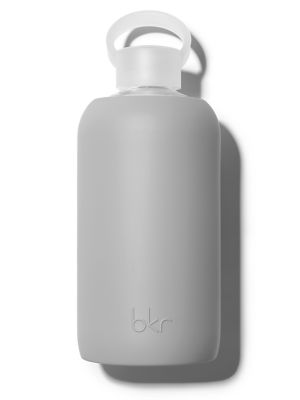 Image of No product you're using is going to work if you're dehydrated. bkr is the solution to staying hydrated and helps to create the canvas for a gorgeous complexion so skincare and makeup can be most effective. Made of clean, bubbly glass wrapped in soft, grip