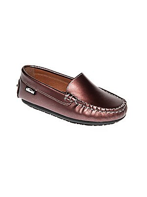 12c5f5c698c Venettini - Toddler s   Kid s Gordy Chevron-Embossed Leather Loafers