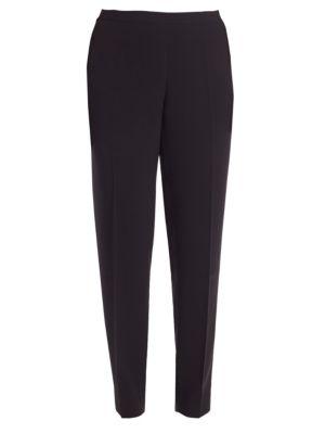 Plus Finesse Crepe Bleecker Pants plus size,  plus size fashion plus size appare