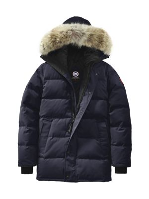 Carson Fur-Trimmed Parka plus size,  plus size fashion plus size appare