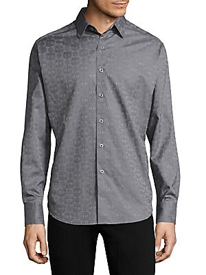 33606a8a526 Robert Graham - Cullen Cotton Button-Down Shirt
