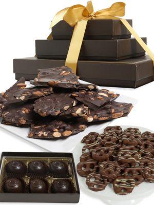 Dark Chocolate Gift Tower