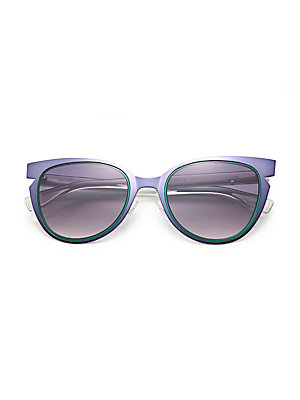 e1d05b3eb428 Fendi - 53MM Wired Cat Eye Frame Sunglasses - saks.com