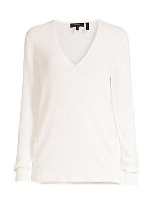 Theory Adrianna Cashmere V Neck Sweater