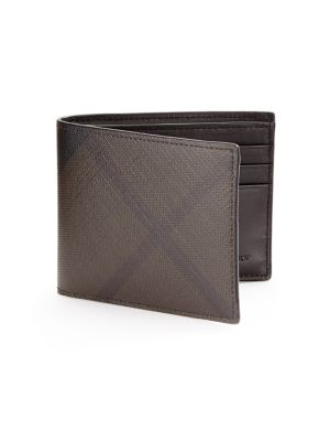 Plaid Hipfold Wallet by Burberry