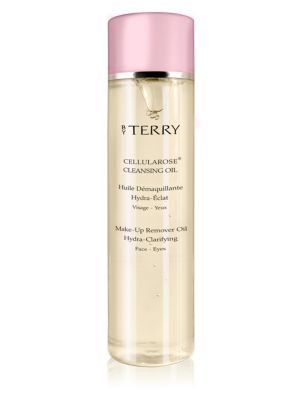 Image of This uber-posh face and eye cleanser caresses the skin with the delicate sigh of roses. The mild-action oil instantly melts away impurities and dissolves even the most tenacious makeup, including waterproof products. Suitable for all skin types, this pote