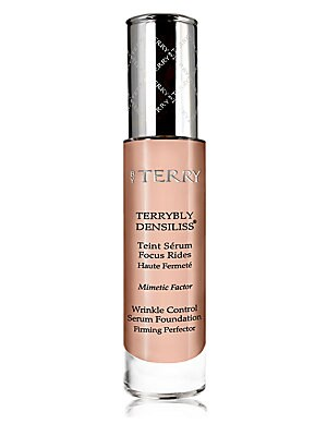 Image of WHAT IT IS This foundation serum enriched in skincare benefits with wrinkle control and firming properties, blends in like a second skin. 1 oz. Made in France. WHAT IT DOES Wrinkles, however deep or just appearing, are targeted so that even the most lined