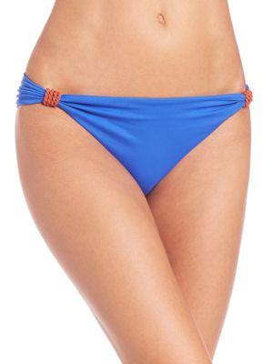 LAZUL Maia Hipster Bikini Bottom in Blue Rust