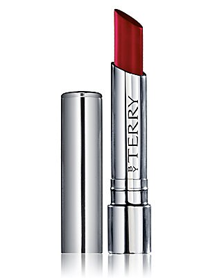 "Image of A pure concentrate of hyaluronic acid, this melt-in lipstick balm moisturizes, fills in wrinkles and fine lines, boosts volume, smoothes and protects the lips in a ""plumping glossy"" colored veil. Made in Italy. Cosmetics - By Terry > Saks Fifth Avenue. By"