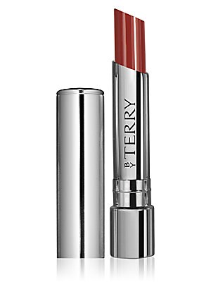 "Image of A pure concentrate of hyaluronic acid, this melt-in tinted balm moisturizes, fills in wrinkles and fine lines, boosts volume, smoothes, protects and enhances the lips in "" plumping glossy "" neo-nude tones. Made in Italy. Cosmetics - By Terry > Saks Fifth"