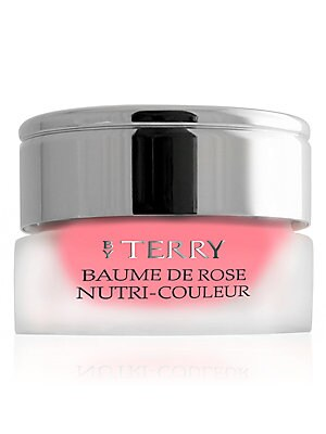 Image of WHAT IT IS A tinted version of the iconic Baume de Rose, this intense multi-enhancing, nourishing and regenerating lip care combines glamorous color with an age-defense protection. 0.24 oz. Made in France. WHAT IT DOES Ultra-concentrated in lipid-replenis