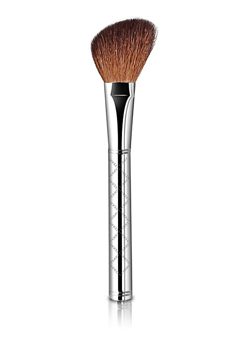 Image of Soft and firm, this angled brush is precisely designed to blend and contour blush from a transparent sweep to an intense finish. Made of natural goat hair. Imported.