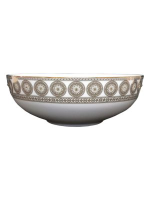 Prouna Golden Leaves Salad Bowl